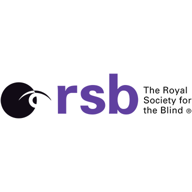 RSB logo with text The Royal Society for the Blind
